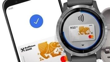 Raiffeisenbank spustila Google Pay a další způsoby bezkontaktního placení
