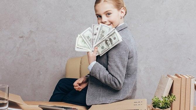 Teď kupují plyšového orla, zítra akcie. Jak vedou podnikatelky děti kbyznysu?