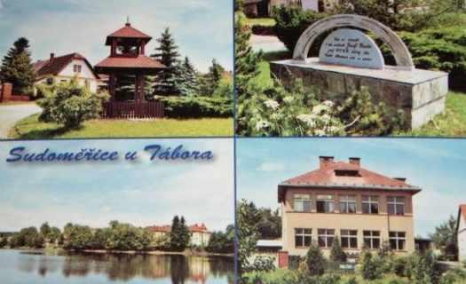Obec Sudoměřice u Tábora, vstupní brána do jihočeského kraje