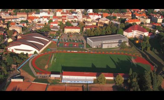 Správa a provoz koupaliště, zimního stadionu a sportovní haly