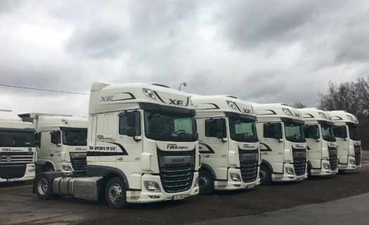 Tuzemská i mezinárodní autodoprava, přeprava zboží kamiony
