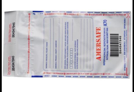 Plastové jednorázové bezpečnostní obálky Praha