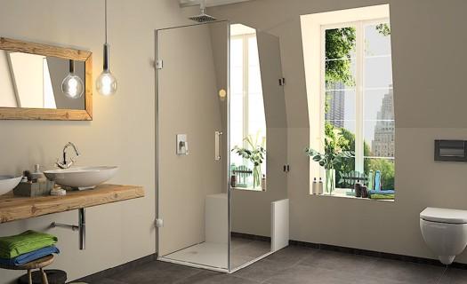 Sprchové kouty a vaničky Hüppe, vysoká funkčnost, atraktivní design, snadná péče