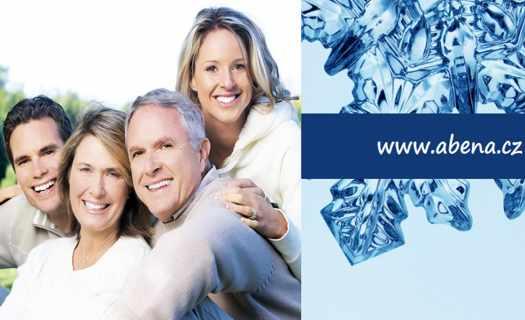 Ucelený soubor savých pomůcek pro inkontinenci ABRI, speciální kosmetiku ABENA SKINCARE a celou řadu dalších zdravotnických pomůcek pro péči o pacienty (rukavice, podložky).