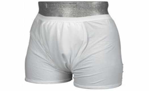 Pánské i dámské pratelné spodní prádlo s diskrétní pomocí při inkontinenci.