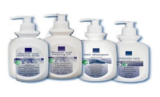 Kvalitní kosmetika ABENA - mýdla, sprchové gely, masti.