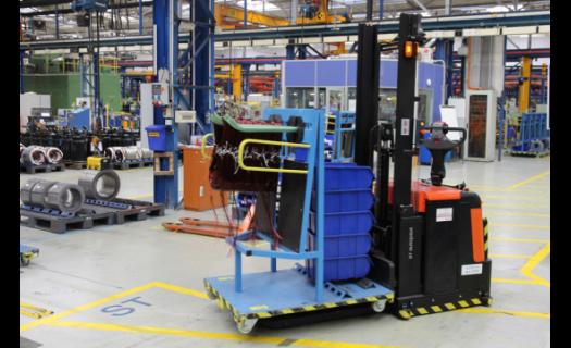 Automatizovaný vozík BT Autopilot v praxi