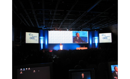 Projekční technika pro konference a školení – zapůjčení projektorů, LED stěny