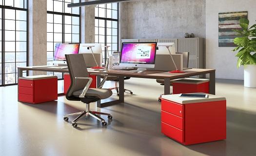 Praktický kancelářský nábytek a vybavení.