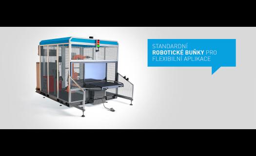 Robotické svařovací buňky – mobilní, cenově dostupné