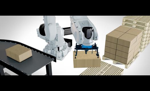 Robotická paletizace – zvýší kapacitu balicího systému