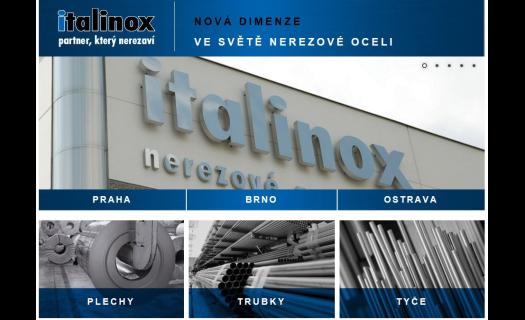 Servisní centrum ITALINOX  – dělící, převíjecí a kartáčovací linka -  zpracování nerezové oceli