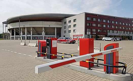 Parkovací a vstupenkové systémy, pokladny, výroba a instalace