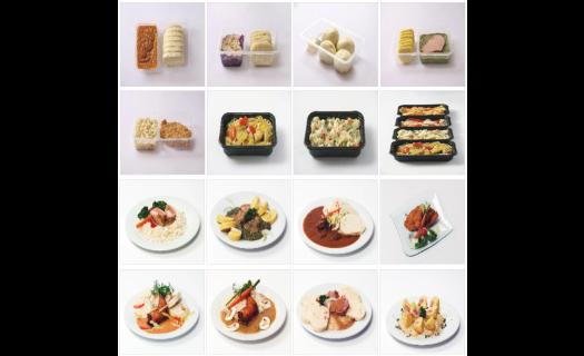Chlazená hotová jídla, rauty, závodní stravování-rozvoz