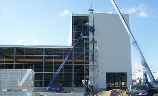 Montované haly, montáž, opláštění, dodávka ocelových konstrukcí