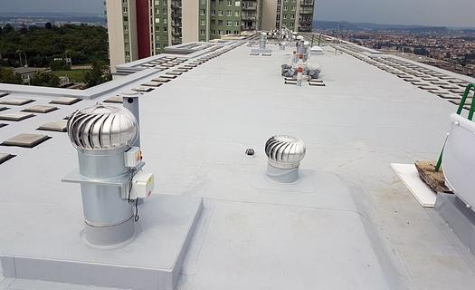 Ploché střechy, rekonstrukce, hydroizolace teras a bazénů