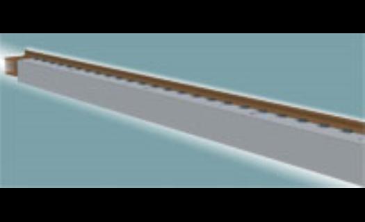Systémy Gantry, Gantrex, Gantrail - kolejnice, kolejové systémy, upevnění kolejnic