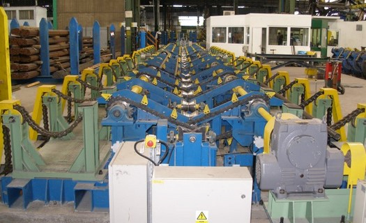 Strojírenská výroba technologických celků v hutnictví, výstavba průmyslových hal