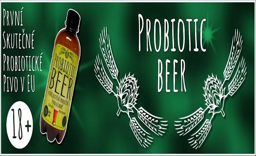 První probiotické pivo na světě na zlepšení imunity, zažívání i psychiky.