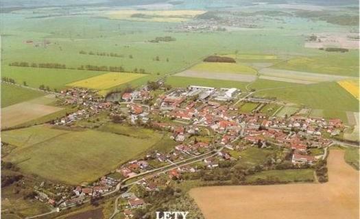 Obec Lety u Písku Jihočeský kraj, Návesní kaple, Boží muka, člen Dobrovolného svazku obcí