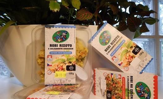 Nemasové výrobky ROBI, racionální výživa Brno, plátky, nudličky, saláty, pomazánky ROBI