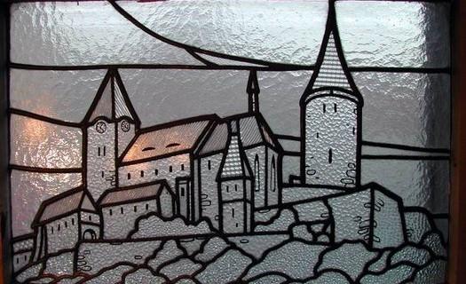 Sklenářství, zasklívání oken, dveří na počkání Olomouc, pískování skla, vitráže, broušení skla