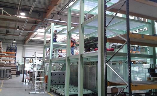 Ocelové konstrukce, zpracování plechů, kovovýroba