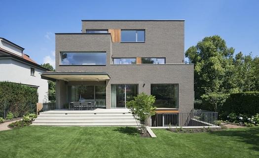 Architektonické návrhy veřejných a obytných budov