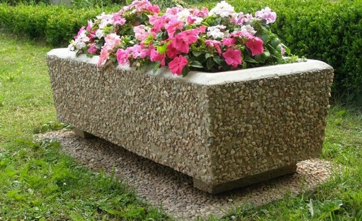 Betonové výrobky pro parky i zahrady Náchod, čistě přírodní materiály, zakázková výroba z betonu