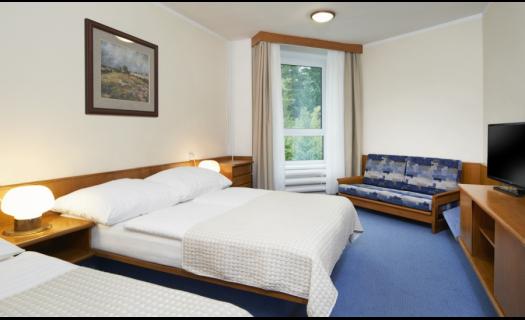 Zážitkový hotel uprostřed krkonošských lesů