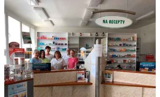 Lékárna Brno – Líšeň, prodej léků a potravinových doplňků