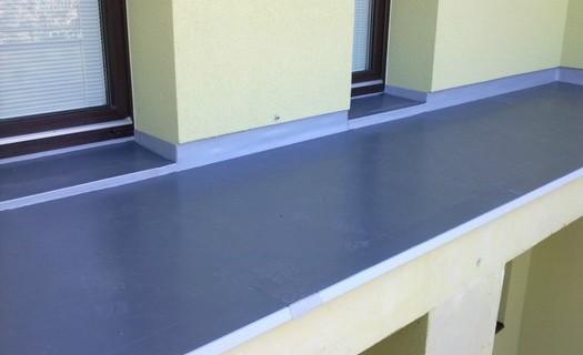 Hydroizolace plochých střech Trutnov, izolace balkonů a teras, jezírka a bazény, zateplování