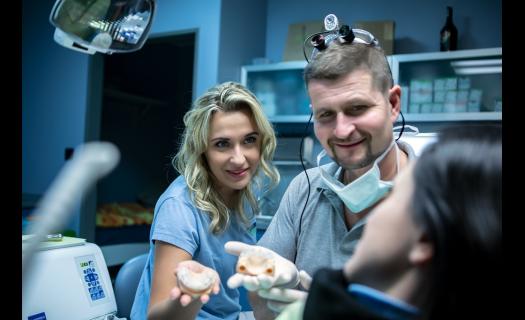 Stomatologická péče na zubní klinice DENTAL OFFICE H33