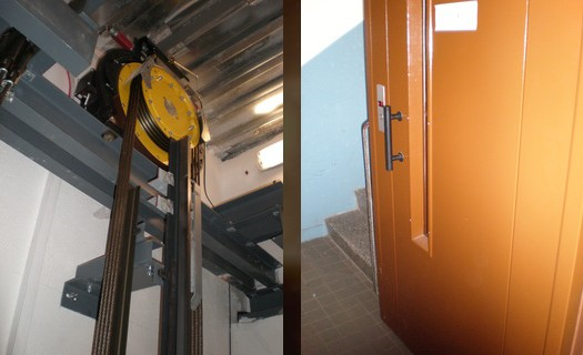 Rekonstrukce a renovace výtahů Cheb, modernizace starších výtahů v panelových domech