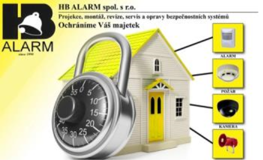 Komplexní dodávka systémů pro zabezpečení Vašeho majetku