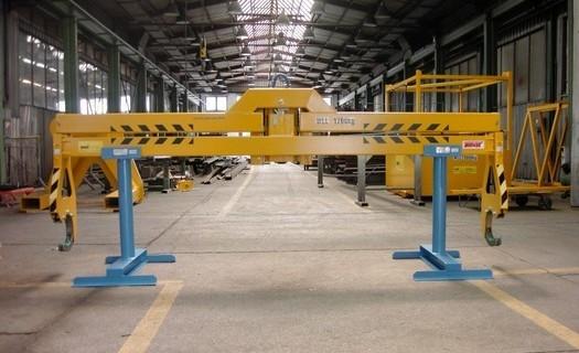 Výroba jeřábových traverz od firmy UNIMAN Žďár nad Sázavou, ultrazvuková a magnetická zkouška
