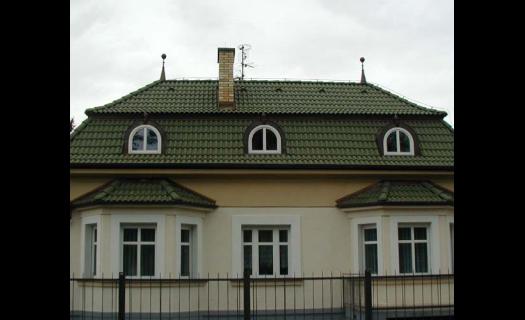 Betonová střešní krytina, realizace střech