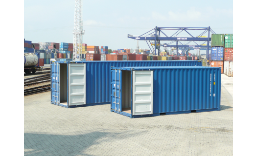 Last way námořní ocelové kontejnery pro zámořskou i kontinentální přepravu