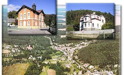 Malebná středočeská obec nedaleko Mělníka