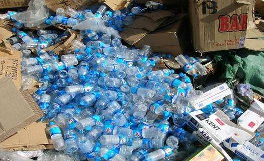 Třídění plastových obalů, recyklace