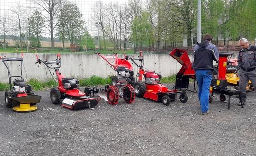 Zahradní technika, zemědělská mechanizace – prodej a servis
