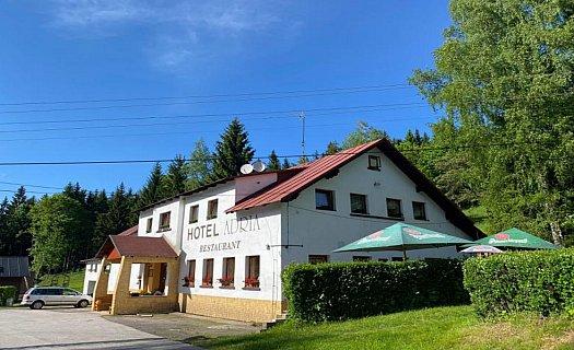 Rodinný hotel Adria, levné ubytování v rekreačním středisku Kořenov, Jizerské hory