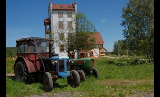 Brautfergerův dvůr, ubytování v apartmánech, agroturistika Klášterec