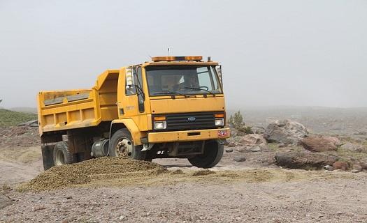 Přeprava sypkých materiálů a dřeva Břeclav, přeprava automobily 3, 5 t