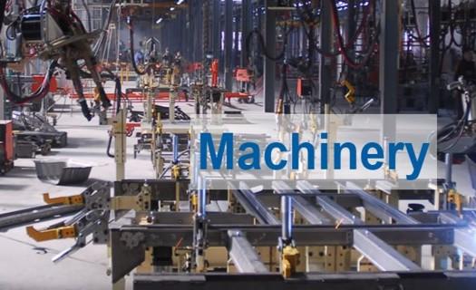 Stroje a strojové součástky