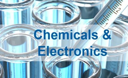 Chemické zpracování a elektronika