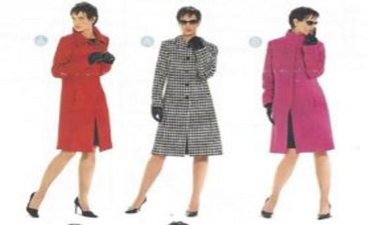Kabáty a saka - střihy