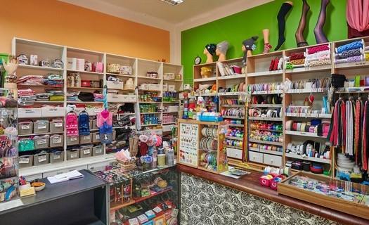 Prodej galanterního zboží, krejčovské služby Ostrava, oprava oděvů a obuvi, prodej látek a přízí