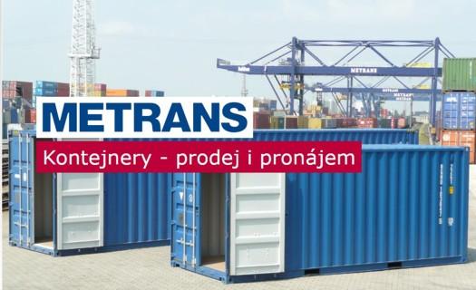 Pronájem lodních kontejnerů