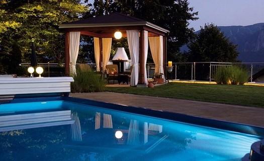 Realizace bazénů, vířivek a teras Praha, nadzemní bazény, plastové bazény, relax bazén, mini bazén